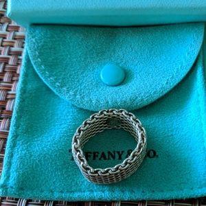 Tiffany & Co. Mesh Ring
